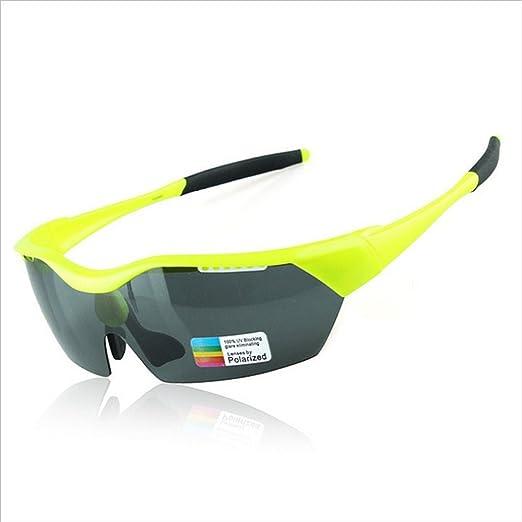 Gafas de Sol Deportivas PC Fluorescente Verde Polarizado ...