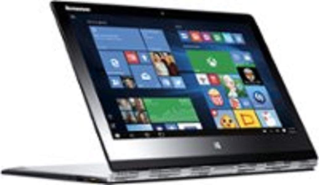 "Lenovo Yoga 3 Pro 13.3"" Quad HD+ 2-in-1 Touchscreen Ultrabook, Intel Core M-5Y71 1.2GHz, 8GB RAM, 256GB SSD, Windows 8.1 (Free Upgrade to Win 10)' Silver"