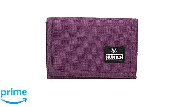Cartera Munich Cordura Morado: Amazon.es: Equipaje
