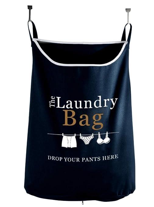 Amazon.com: Drop your pants here Hanging Bolsa de ropa sucia ...