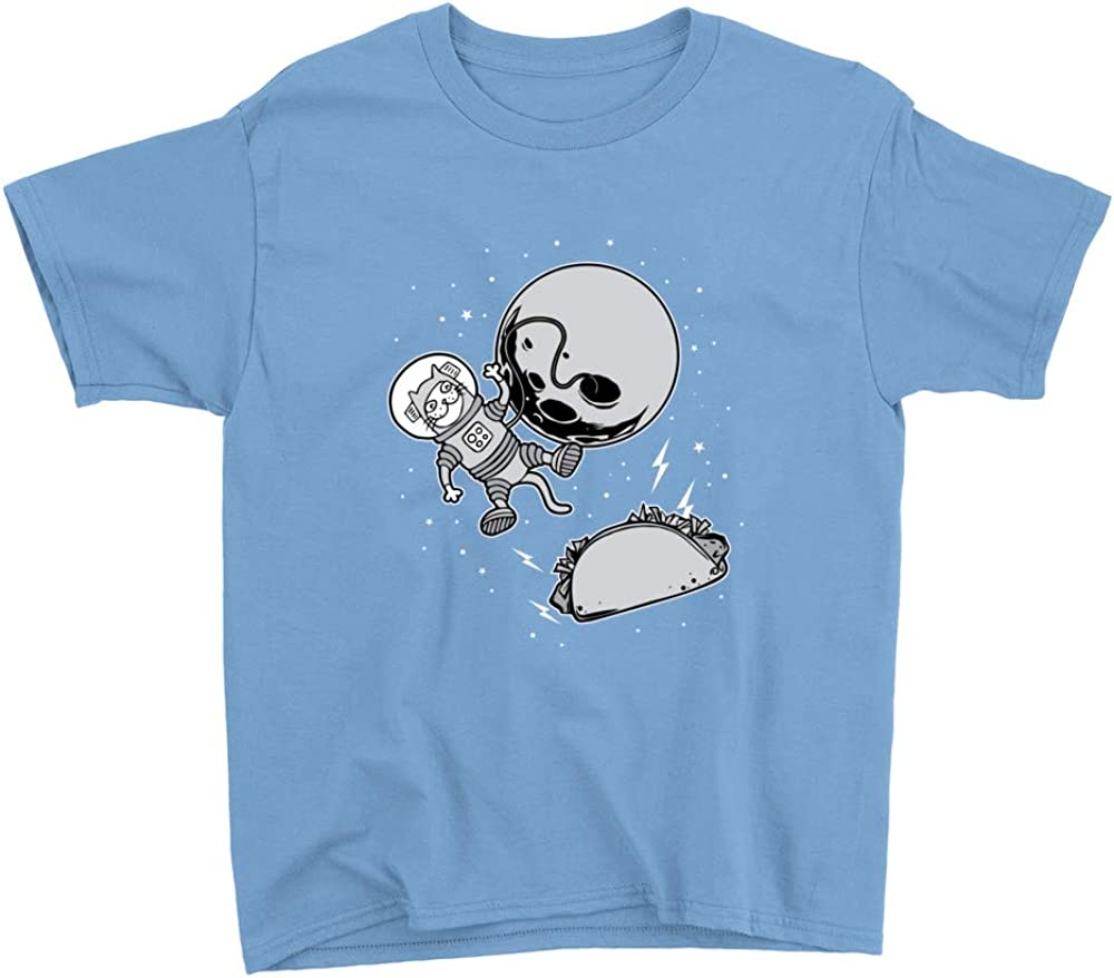 Space Taco Cat Youth T-Shirt
