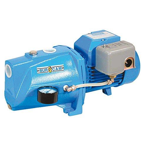 BurCam 506121S  Shallow Well Cast Iron Jet Pump, 1/2 hp, 115V/230V (1/2 Hp Shall Well Pump)