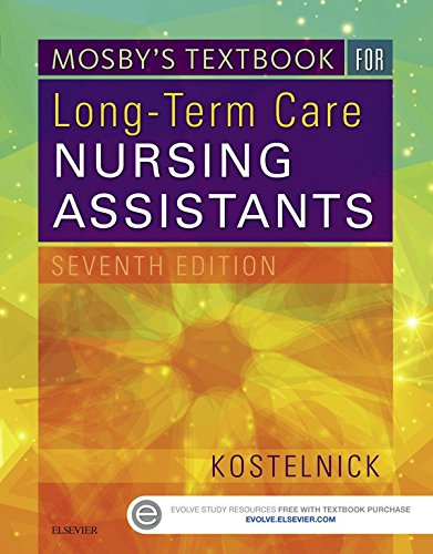 Mosby's Textbook for Long-Term Care Nursing Assistants Pdf