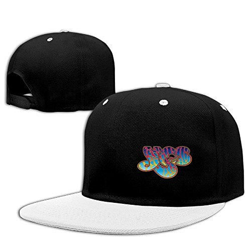YQUE56 Unisex Pop Band Hip-hop Cap Hat Adjustalbe White One Size