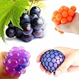 Yocome Squeeze Extude Grape Soft Rubber Toy Original Fidget Toys - Relieving Stress Anxiety Toys for Kids & Adults, Random Color