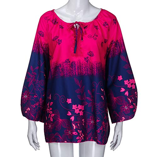 TOPS ITISME Unita Manica Corta Pink Tinta Camicia Impero Donna DAMEN 6wFpwTqR