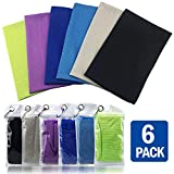 Best Cooling Towels - Instant Cooling Towels for Neck Microfiber, Camping Towels Review