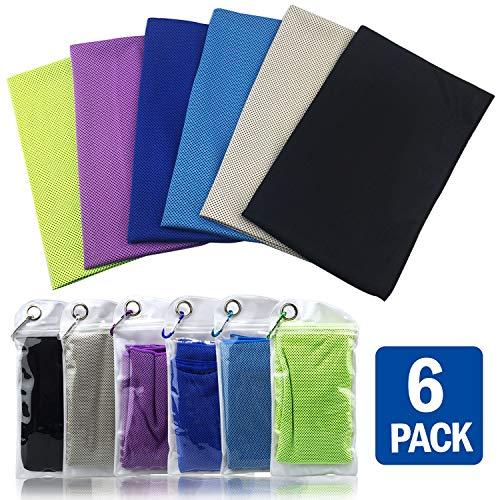 Instant Cooling Towels for Neck Microfiber