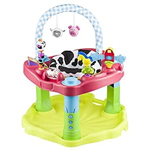 Evenflo Exersaucer Bounce Amp Learn Mega Movin Groovin Red