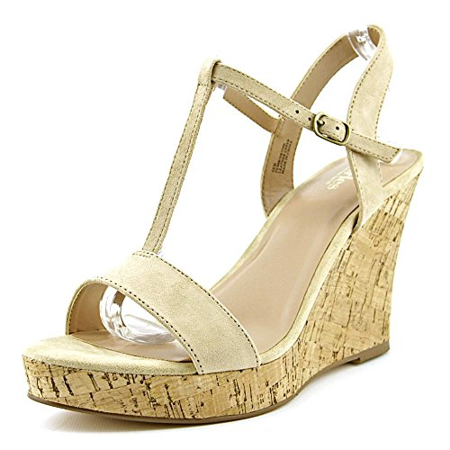 Charles By Charles David Libra Women US 11 Nude Wedge Sandal