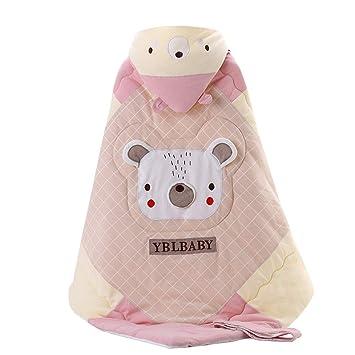 JSIHENA Sacos Dormir Algodón Multiusos Bebé Edredón Dibujos Animados Pequeño Animal Recién Nacido Manta,Pink: Amazon.es: Deportes y aire libre