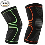 ASTAS Compression Knee Sleeve Knee Brace for Knee Pain - Braces and Supports Knee for Pain Relief, Meniscus Tear, Arthritis, Injury, Running, Joint Pain, & Support - BEST Knee Sleeve