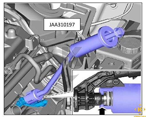 Fuel Injector Remover For Jaguar And Land Rover 5 0 Liter