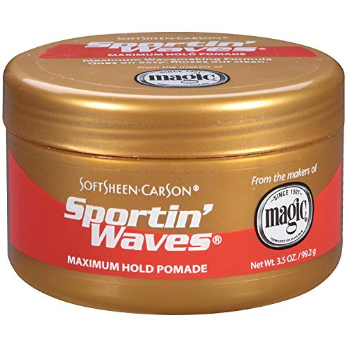 - Soft Sheen Sportin Waves Maximum Hold Pomade 3.5oz (3 Pack)