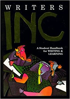Book Writers INC: A Student Handbook for Writing & Learning by Patrick Sebranek (1995-08-01)