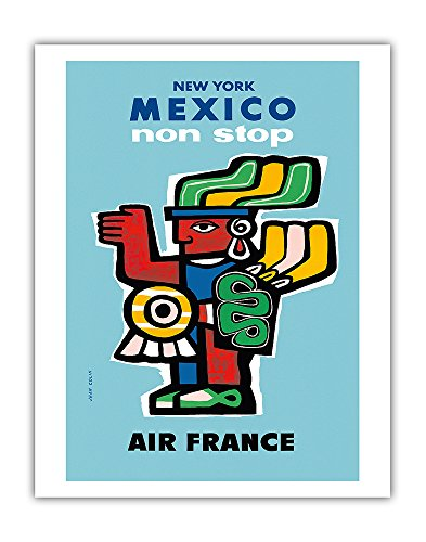 aztec canvas poster