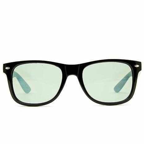 GloFX Ultimative Beugungs Brillen- schwarz getönt - 3d Prismaeffekt edm Regenbogenart Sonnenbrille
