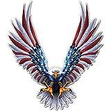 Bald Eagle American Flag Sticker/Decal - 6