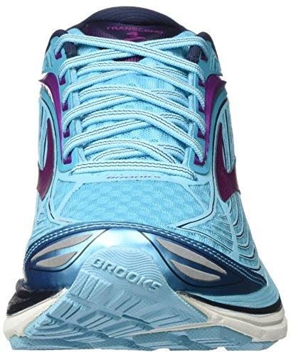 Brooks Flower Bluefish Shoe Cactus Running Peacoat Transcend Women's Purple 4 rqH1rz