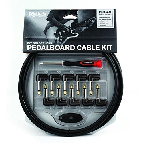 D'Addario DIY Solderless Custom Cable Kit, 40 feet, 10 plugs