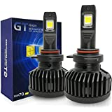 KOOMTOOM LENS 9012 HIR2 Bombillas LED Cree XHP70 Chip GT Update Series Faros Canbus Sin errores