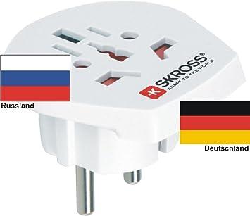 Travel Plug Adaptor Foreign Adapter To Germany Schuko Elektronik