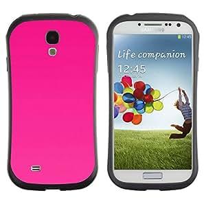 Suave TPU GEL Carcasa Funda Silicona Blando Estuche Caso de protección (para) Samsung Galaxy S4 I9500 / CECELL Phone case / / Color Fuchsia Rose Cerie Magenta /