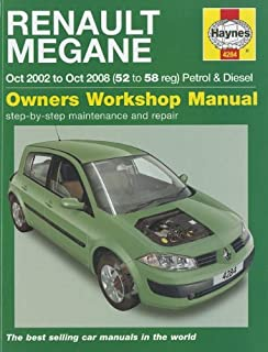 Scenic Petrol and Diesel Service and Repair Manual: 2003 to 2006 ...