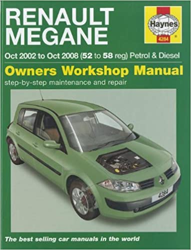 Renault Megane Petrol & Diesel: 2002 to 2008 Service & repair manuals: Amazon.es: R. M. Jex, A. K. Legg: Libros en idiomas extranjeros