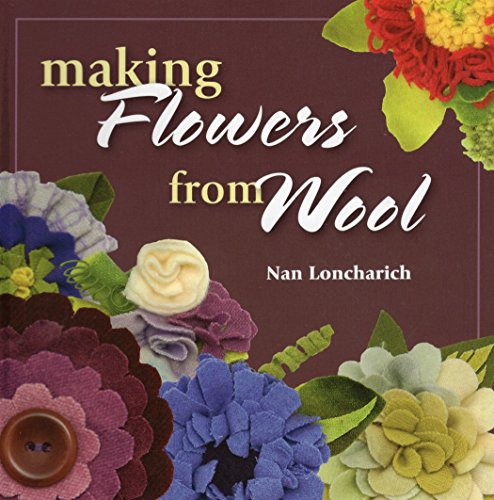 Making Flowers from Wool -