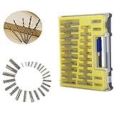 0.4-3.2mm Mini Drill Bit Set with Carry Case Small Precision Hand Tools Mini HSS Twist Drill Kit/150PCS