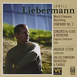 Liebermann: Symphony 2 / Flute Concerto