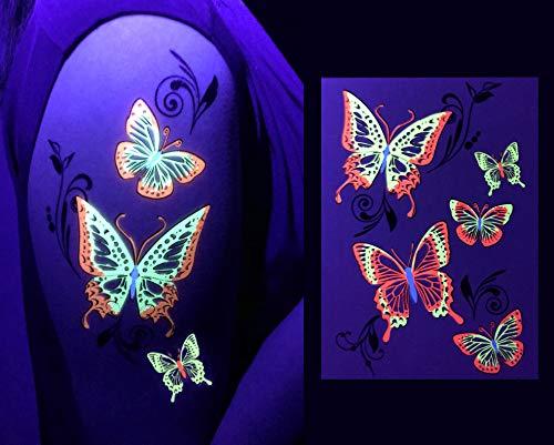 Light Up Accessories - d'IRIS studio UV Glow Party Tribal