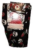 Nightmare Before Christmas Jack Skellington Fleece Sleep Pants & Head Mask - Small