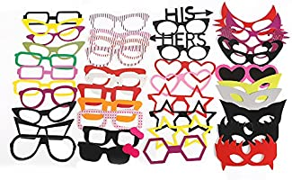 ZOGIN Kit de Accesorios Photocalls Máscaras Disfrazadas de ...
