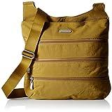 Baggallini LZP474-CY Big Zipper Crossbody Bag, Curry, One Size