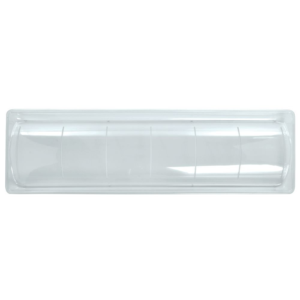 Reversible Clear PETG Display Tray - 30''L x 9''W x 2''H