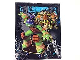Staples 2-Pocket Fashion Paper Portfolio Folders, Set of 5, Teenage Mutant Ninja Turtle