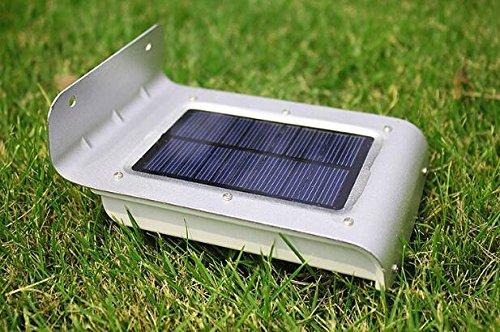 Great Frostfire 16 Bright LED Wireless Solar Powered Motion Sensor Light  (Weatherproof, No Batteries Required) (Lawn U0026 Patio)