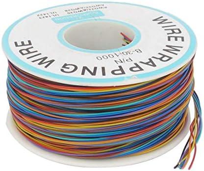 BLS 基板はんだの多彩な色の柔らかい25 mmダイヤ銅線30awg包装ラップ1000フィート (カラー)