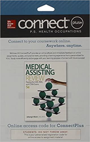Connect 2 semester access card for medical assisting review passing connect 2 semester access card for medical assisting review passing the cma rma and ccma exams 5th edition fandeluxe Choice Image