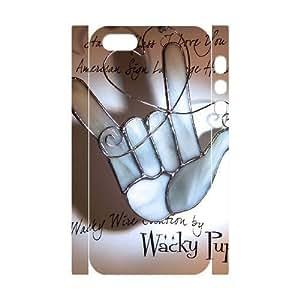 3D Bumper Plastic Customized Case Of Rock & Roll for iPhone 5,5S WANGJING JINDA