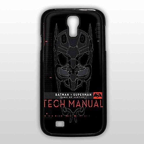 Batman V Superman Dawn Of Justice Tech Manual for Samsung S4 Black case