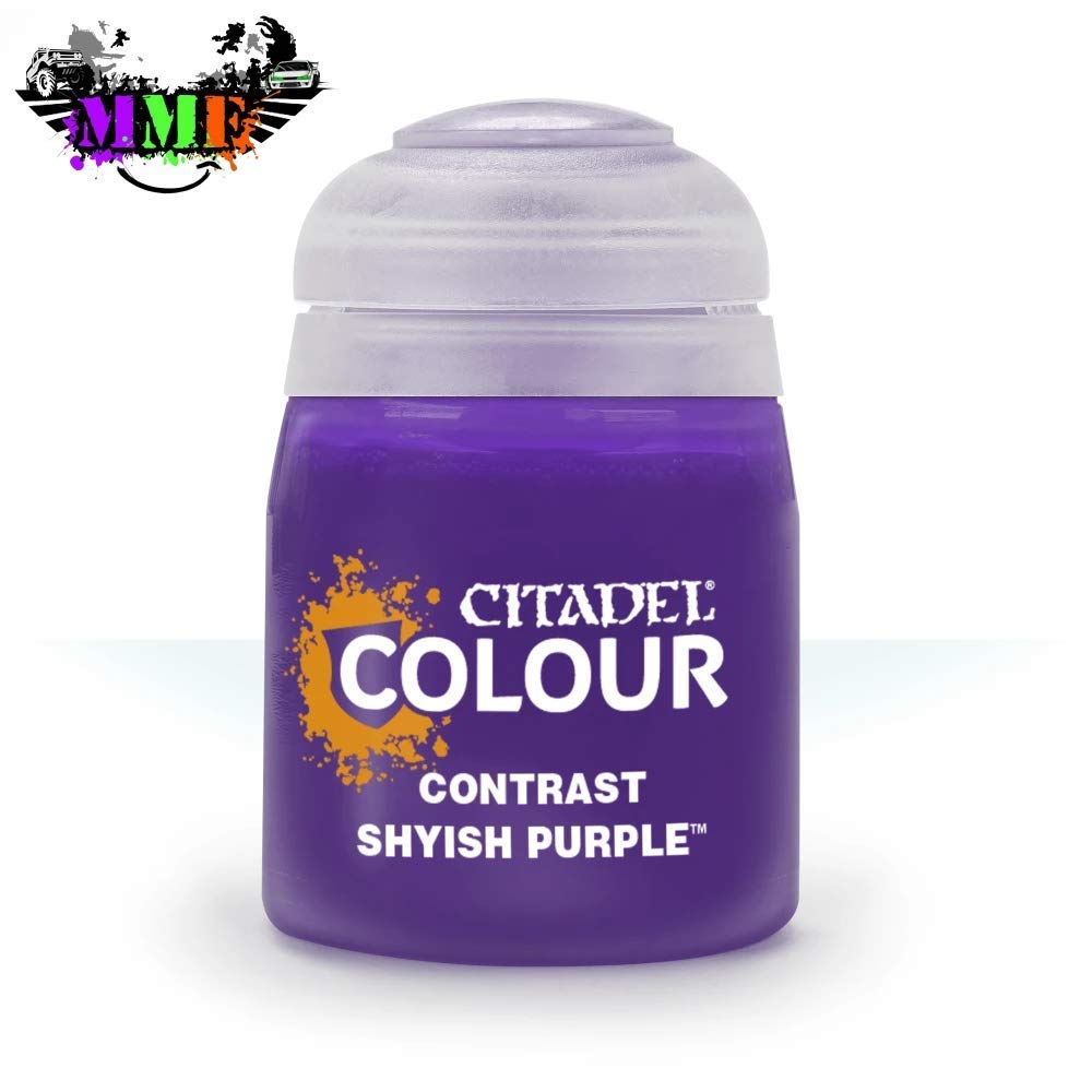 Games Workshop Citadel Pot de Peinture - Contrast Shyish Purple (18ml)