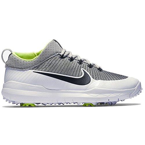 Premiere Golf Shoes - Nike Golf FI Premiere Metallic Silver/Black/White/Volt Men's Golf Shoes