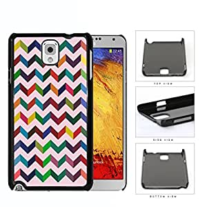3 Dimensional Chevron In Multiple Colors Hard Plastic Snap On Cell Phone Case Samsung Galaxy Note 3 III N9000 N9002 N9005