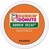 : Dunkin Donuts Decaf Coffee K-Cups For Keurig K Cup Brewers (24 Count)