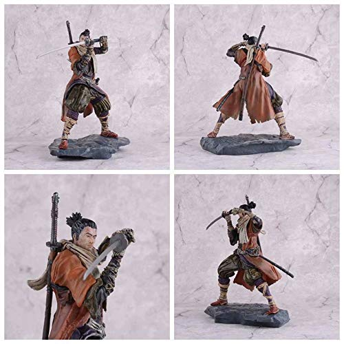 Shadows Die Twice Entity Collectors Edition Model Decoration Boxed Hand Action Figure 7.8inch SEKIRO