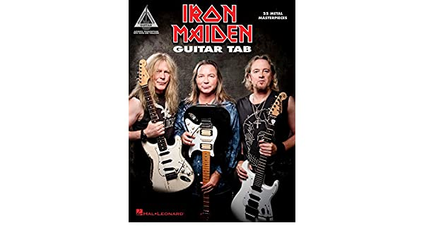 Iron Maiden - Guitar Tab: 25 Metal Masterpieces (Guitar Recorded ...