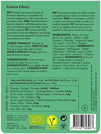 Fórmula Detox -Green Glory - Depurativo - Hígado - Riñones ...